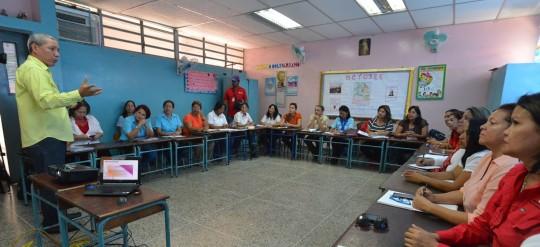 """Gobierno Regional inicia implementación de """"Plan de Ciencia y Tecnología"""" en escuelas estadales"""