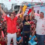 Puerto Cabello y Morón juramentaron Comandos Bolívar-Chávez para el 6D