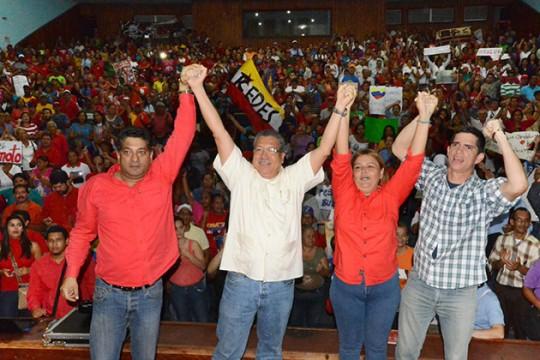 Circuito 3 juramentó Comando de Campaña Bolívar – Chávez para el 6D