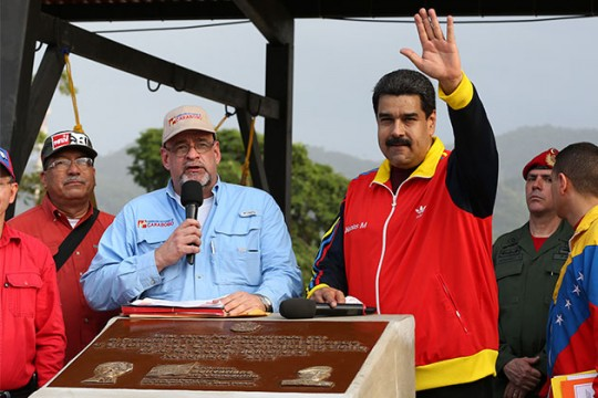 Maduro aprobó Bs. 3 mil 500 millones para ocho obras en Carabobo