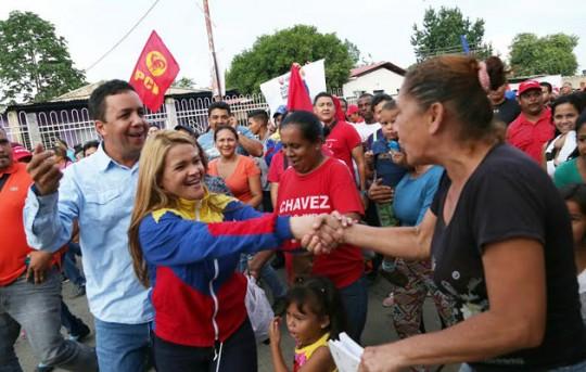 Candidatos de la patria en Carabobo abrieron campaña  junto al pueblo