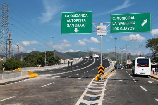 Presidente Maduro inauguró Elevado Las Industrias de Valencia