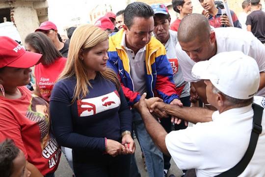 En Carabobo candidatos de la Patria garantizan que sigan avanzando obras revolucionarias