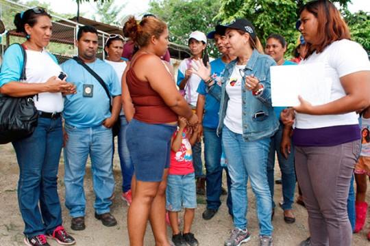 Gobierno Bolivariano afianza Gran Misión Hogares de la Patria en Carabobo