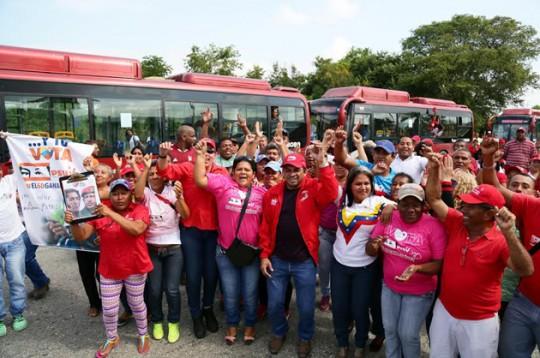 Beneficiamos a 12 mil personas con nueva ruta TransCarabobo en Juan José Mora