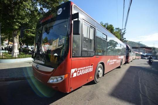 TransCarabobo llegó a Diego Ibarra en beneficio de mil 800 usuarios diarios
