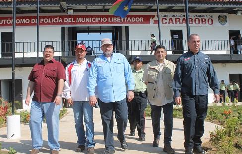 Pusimos en marcha sede de Policía Municipal de Libertador