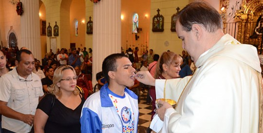 Gobernación de Carabobo celebró Misa del Deporte en la Catedral de Valencia