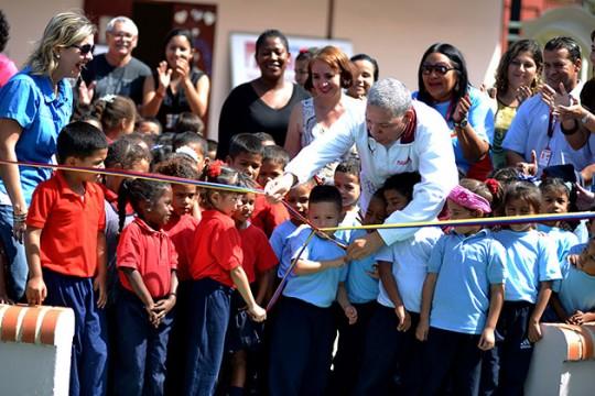 Beneficiamos a 120 niños con nuevo preescolar