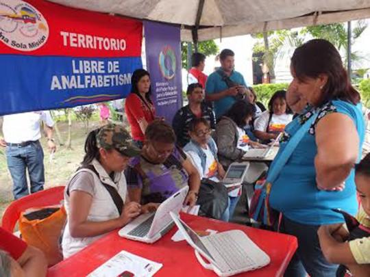 Más de siete mil carabobeños inscritos en Misión Robinson Productiva