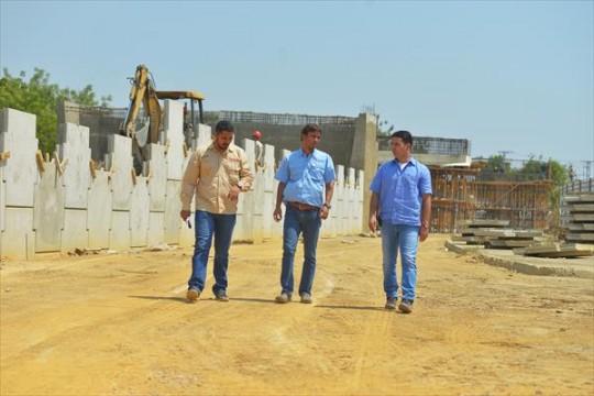 Distribuidor del Sur registra 50% de avance en infraestructura