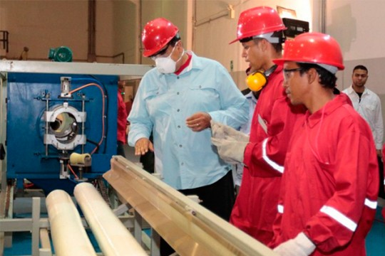 Presidente Maduro: Venezuela saldrá adelante con trabajo