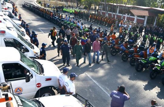 Carabobo desplegósiete mil funcionarios en Operativo Carnaval Seguro 2016