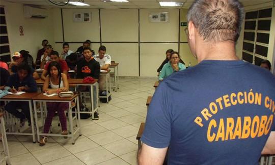 Sistema Integrado de Emergencias en Carabobo fomentará campaña de autoprotección escolar