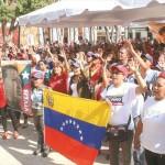 Militancia revolucionaria demostró que el amor hacia Chávez es imborrable