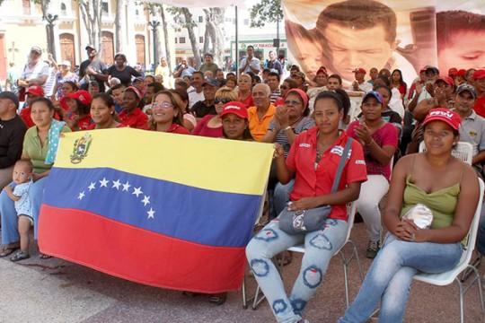 Patriotas mantienen vivo legado del Comandante Eterno Hugo Chávez