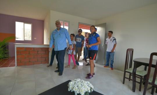 Entregamos una vivienda digna a nuestra bicampeona Daniuska Rodríguez