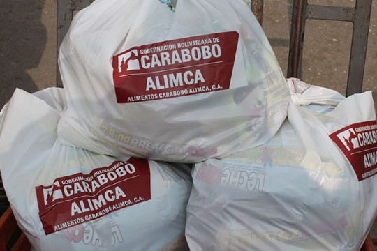 Más de 104 toneladas de alimentos distribuidos casa por casa en Carabobo