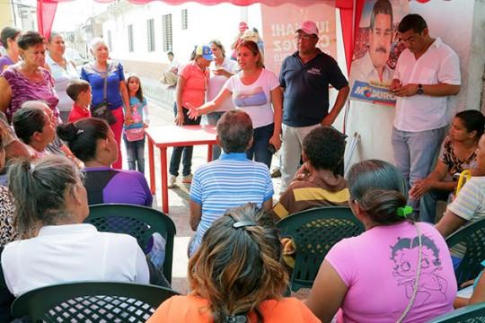 Rehabilitaremos mil 800 viviendas en parroquias Miguel Peña y Santa Rosa