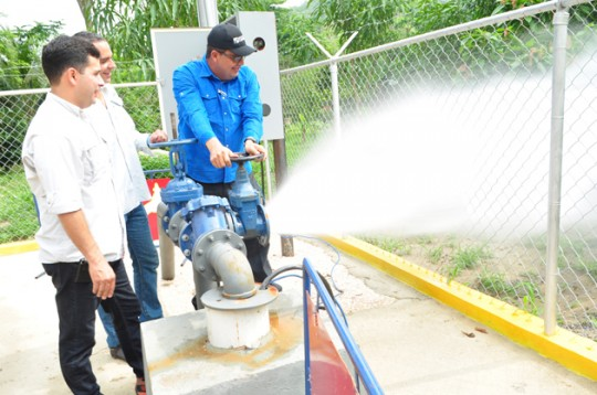 Activamos décimo pozo de agua en Puerto Cabello