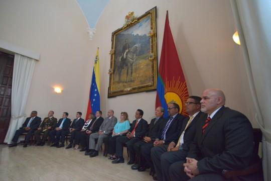 Gobernador Ameliach juramentó coordinadores de Gestión de municipios