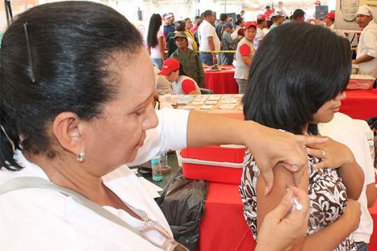 Carabobo listo para iniciar Semana de Vacunación de Las Américas 2016