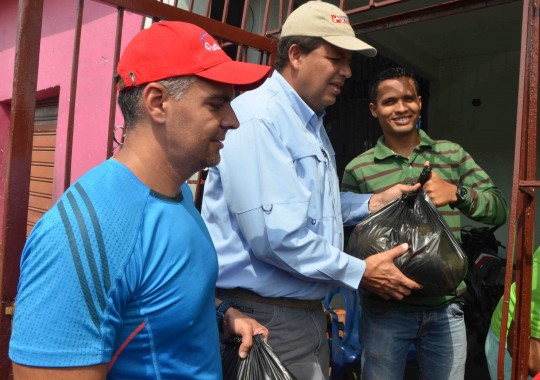 Misión Alimentación distribuyó en Carabobo 225 toneladas de alimentos a 22 mil familias
