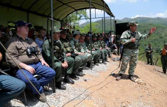 Desplegadas en Carabobo 60 mil personas  con Ejercicio Independencia 2016