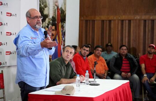 PSUV-Carabobo juramentó  Nuevo equipo político
