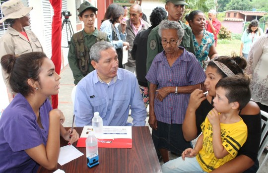 Llevamos jornada de salud hasta población de Las Trincheras