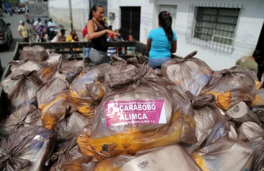 Distribuimos más de 280 toneladas de alimentos a 39 mil familias