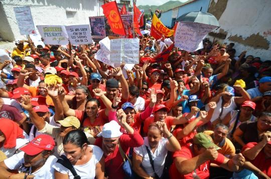 Multitudinaria concentración en Carabobo rechazó injerencia imperialista en Venezuela