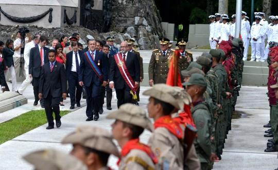 Desde Campo Carabobo rendimos Honor y gloria a nuestra FANB
