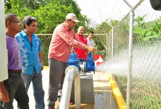 Activamos dos nuevos pozos  de agua en eje costero carabobeño