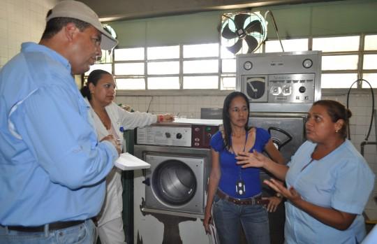Restablecimos aires acondicionados del Hospital de Morón