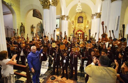 """""""Cuatros de Carabobo para Venezuela""""  brillaron en Catedral de Valencia"""