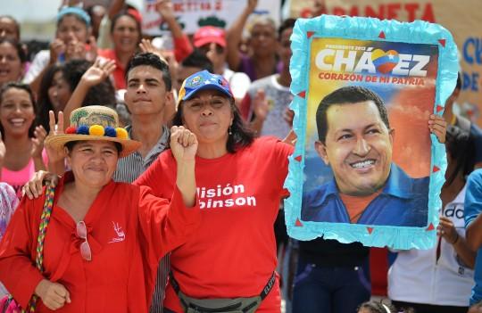 Celebramos junto al pueblo cumpleaños 62 del Comandante Chávez