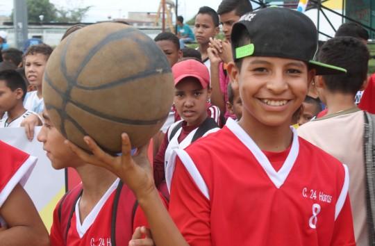 Fundorfa inauguró primeros Juegos Deportivos Populares Inter-barrios del Sur