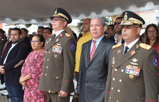 Con unión cívico militar conmemoró 233 años del Natalicio del Libertador en Carabobo