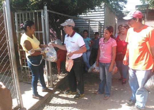 Distribuimos más de 300 toneladas  de alimentos a familias carabobeñas