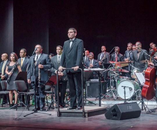 Nuestra Banda Sinfónica 24 de Junio brilló en el Teatro de Ópera de Maracay