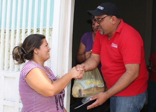 Distribuimos alimentos para más de 50 mil familias