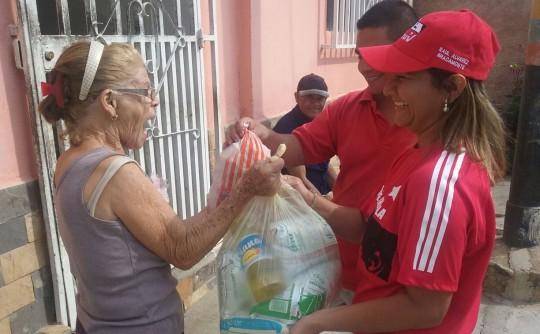 Beneficiamos a más de 40 mil familias en Jornadas de distribución de alimentos
