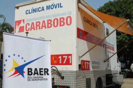 Desplegamos clínicas móviles  para atender comunidades e instituciones
