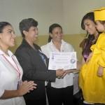 Insalud ha graduado este año a 85 niños en lactancia materna