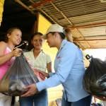 """Llevamos Plan """"Casa por Casa"""" a 3 mil familias de Negro Primero"""