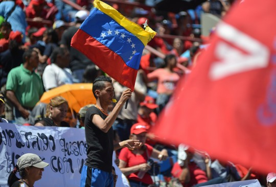 Vanguardia del chavismo en Carabobo respalda políticas del Presidente Maduro