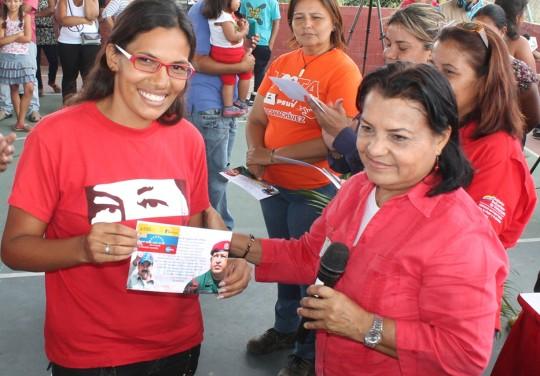 Junto al Gobierno Nacional entregamos Tarjetas de Misiones Socialista a más de 3 mil carabobeño