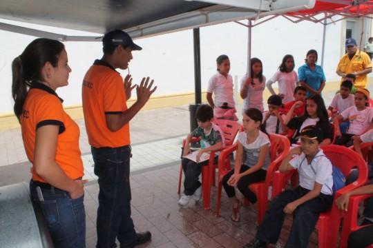 Desplegamos Aulas Itinerantes  para sembrar cultura preventiva
