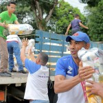 Distribuimos más de 438 toneladas de  alimentos a 45 mil familias